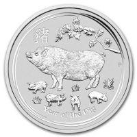 Австралия 50 центов 2019 Год Свиньи