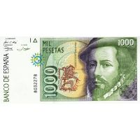 Банкнота Испания 1000 песет 1992