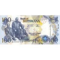 Банкнота Ботсвана 100 пула 2005