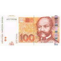 Банкнота Хорватия 100 кун 2012