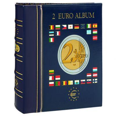 Альбом VISTA для монет 2 евро с защитной кассетой