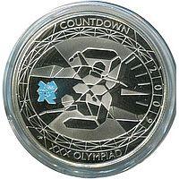 Англия 5 фунтов 2009 Олимпийские игры: плавание