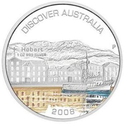 Австралия 1 доллар 2008 Хобарт