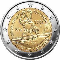 Ватикан 2 евро 2006 500 лет папской швейцарской гвардии (буклет)