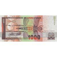 Банкнота Кабо-Верде 1000 эскудо 1989