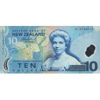 Банкнота Новая Зеландия 10 долларов 2007