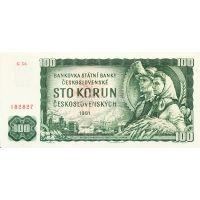 Банкнота Чехословакия 100 крон 1961