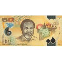 Банкнота Папуа Новая Гвинея 50 кина 2012
