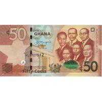 Банкнота Гана 50 седи 2015