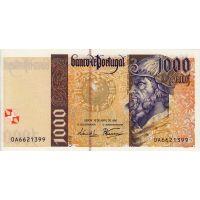Банкнота Португалия 1000 эскудо 1996
