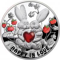 Острова Ниуэ 1 доллар 2012 Счастливы в любви