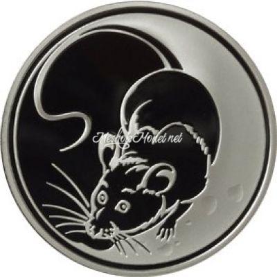 3 рубля 2008 Крыса