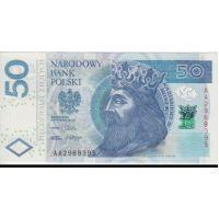 Банкнота Польша 50 злотых 2012