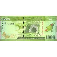 Банкнота Шри-Ланка 1000 рупий 2010