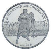 Остров Мэн 1 крона 2010 Чемпионат мира по футболу 2010 в ЮАР