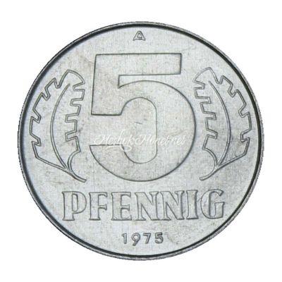 ГДР 5 пфеннигов 1975