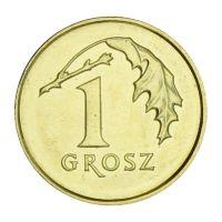 Польша 1 грош 2018