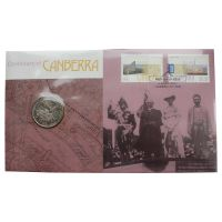 Австралия 20 центов 2013 100 лет Канберре (Буклет)