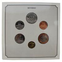 Кабо-Верде Набор монет 1994 Корабли (6 штук)