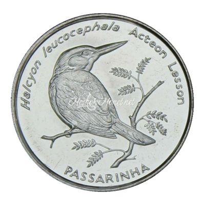 Кабо-Верде 10 эскудо 1994 Сероголовая альциона (Птицы)