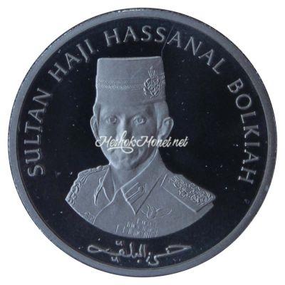 Бруней 3 доллара 1997 30 лет Ассоциации государств Юго-Восточной Азии