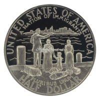 США 50 центов 1986 100 лет Статуе Свободы