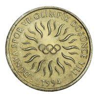 Турция 10000 лир 1994 XVII зимние Олимпийские Игры, Лиллехаммер 1994