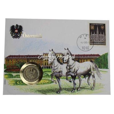 Австрия 10 шиллингов 1985 (В буклете)