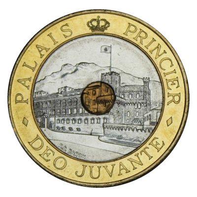 Монако 20 франков 1992