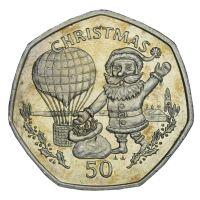 Гибралтар 50 пенсов 1994 Рождество