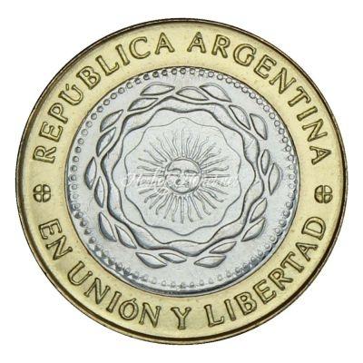 Аргентина 2 песо 2016