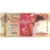 Банкнота Сейшелы 100 рупий 2001