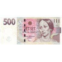 Банкнота Чехия 500 крон 2009