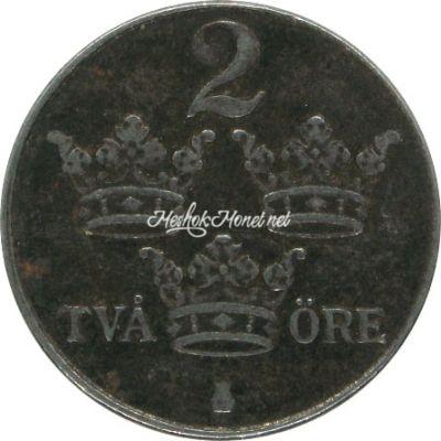 Швеция 2 эре 1949