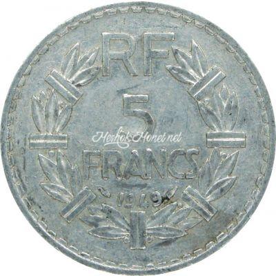 Франция 5 франков 1949