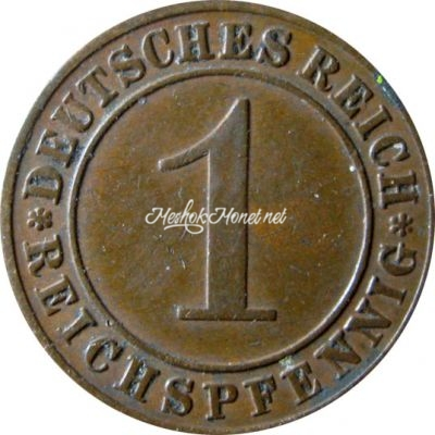 Германия 1 рейхспфенниг 1931