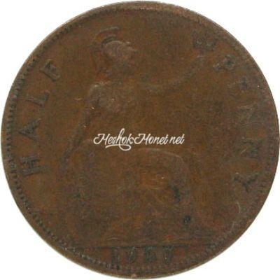 Великобритания 1/2 пенни 1929