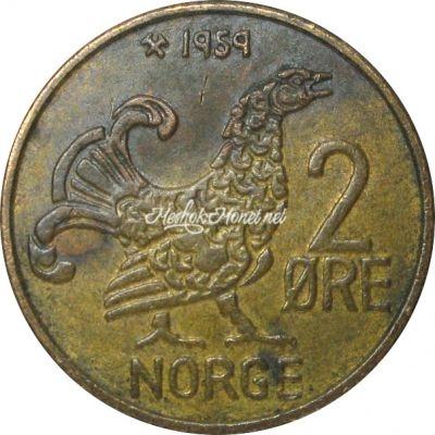 Норвегия 2 эре 1959