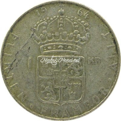 Швеция 1 крона 1964