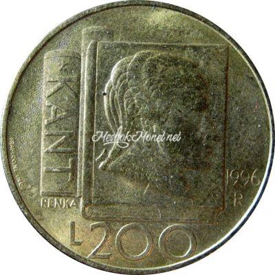 Сан-Марино 200 лир 1996