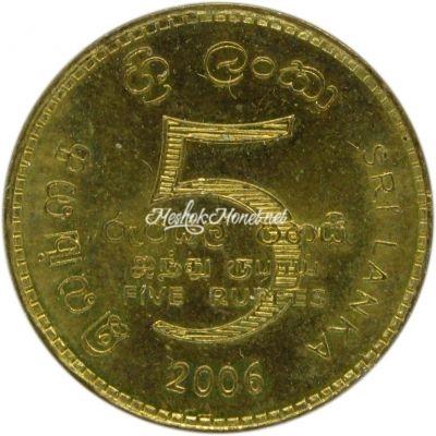 Шри-Ланка 5 рупий 2006
