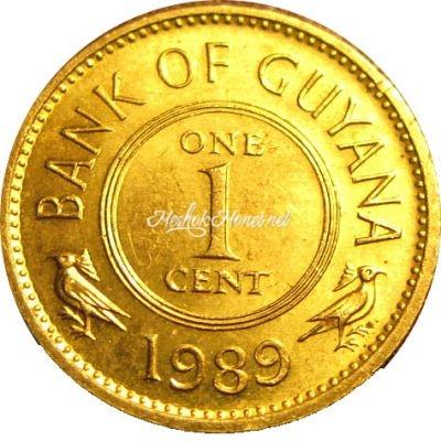 Гайана 1 цент 1985