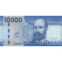Банкнота Чили 10000 песо 2011