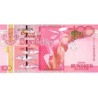 Банкнота Сейшелы 100 рупий 2011