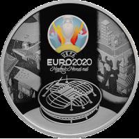3 рубля 2021 UEFA EURO 2020