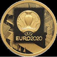 50 рублей 2021 UEFA EURO 2020