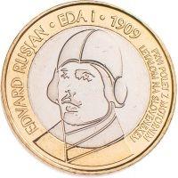 Словения 3 евро 2009 100 лет первому полету